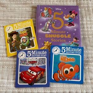 5 Minute Bedtime books